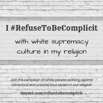 #RefuseToBeComplicit in my religion 2